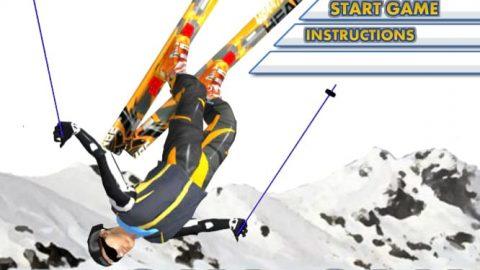 بازی شبیه ساز اسکی Ski Sim