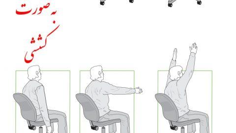 نرمش های ساده برای رفع خستگی (بخش ۲)