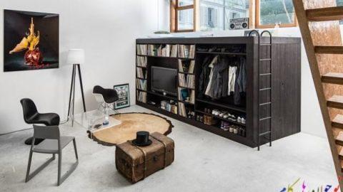 قابل توجه آنهایی که فضای اتاقشان کوچک است