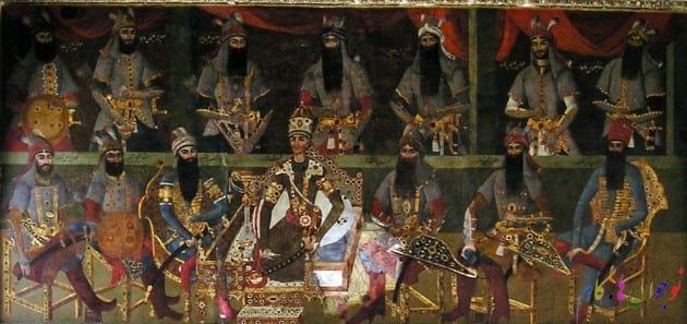 شاهان قاجار به ترتیب