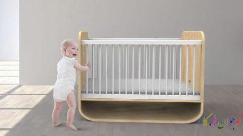 تخت خوابی برای نوزادی تا نوجوانی