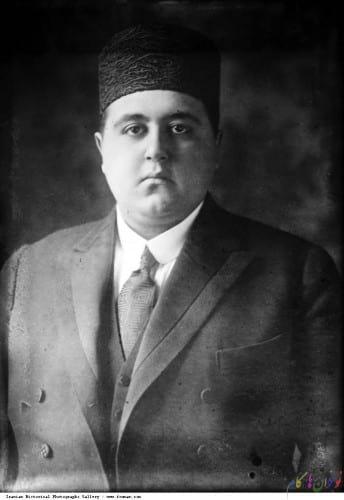 Qajar_Ahmad_Shah_Tie