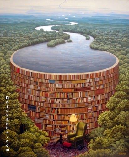 به نظر شما با کتاب خواندن می توان به آرامش رسید؟