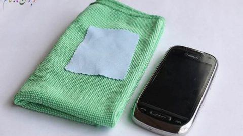 چگونه صفحه نمایش لمسی را تمیز کنیم؟