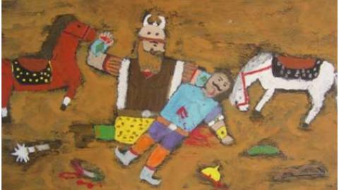 سه نوجوان بوشهری درمسابقه نقاشی بلغارستان دیپلم افتخار گرفتند