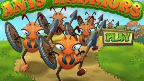 بازی مورچه های مبارز (Ants Warriors)