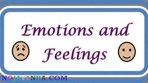 می توانم در مورد احساساتم صحبت کنم