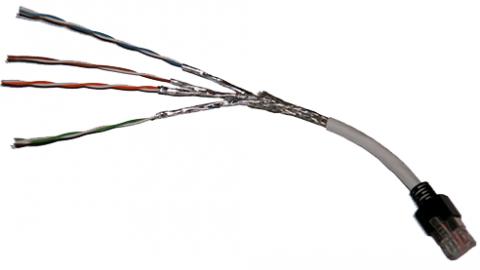 کابل های جفت به هم تابیده (twisted-pair)-درس اول