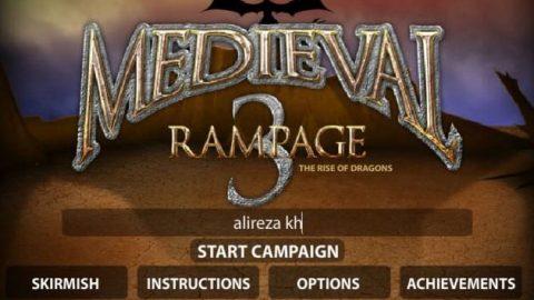 بازی جنگ در قرون وسطی
