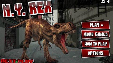 بازی دایناسورها در نیویورک