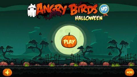 بازی پرندگان خشمگین – هالووین
