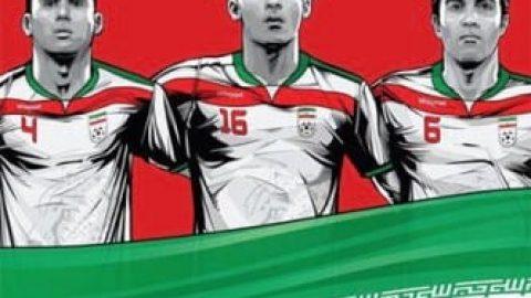 پوستر تیم های جام جهانی فوتبال (۲)