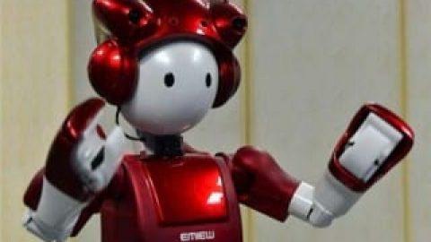 ساخت ربات بااحساس و شوخ طبع