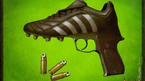 شلیک فوتبالی