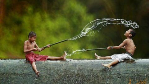 زندگی روستائیان اندونزیایی از نگاه دوربین
