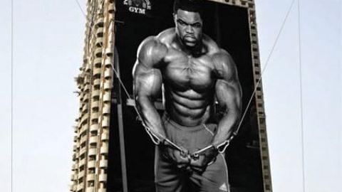 تبلیغات نوآورانه بر روی ساختمان های شهر