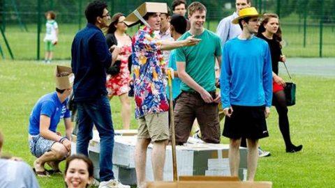 جشن جالب سالگرد تاسیس دانشگاه کمبریج