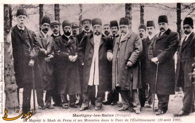 حکایاتی از سفرنامه مظفرالدین شاه قاجار به فرنگ (7)