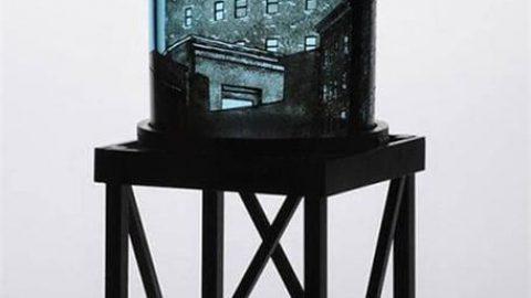 تصاویر حبس شده در شیشه