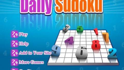 بازی جدول سودوکو