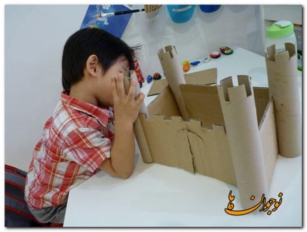 Cardboard Castle-nojavanha (1)