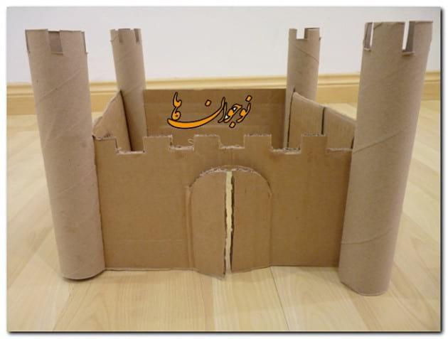 Cardboard Castle-nojavanha (2)