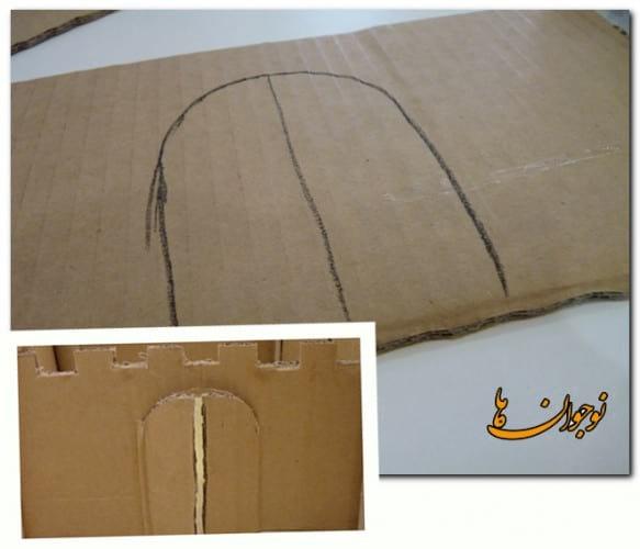 Cardboard Castle-nojavanha (5)