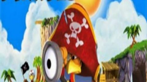بازی Crazy Chicken-Pirates