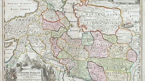 نقشهای تاریخی از ایران متعلق به دوره صفویان