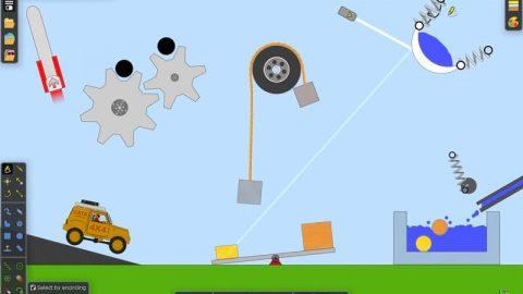 بازی با فیزیک : Algodoo 2.0.1