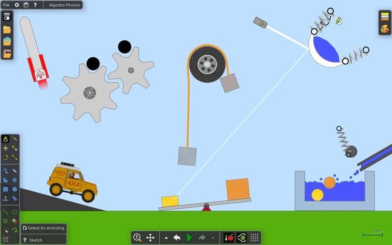بازی مهیج و هیجانی بازی با فیزیک