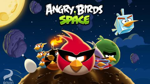 بازی پرندگان خشمگین در فضا؛ Angry Birds Space