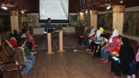 اولین کارگاه آموزشی کودک باستان شناس برگزار شد
