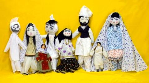 نمایشگاه عروسک های اقوام ایرانی در کاخ نیاوران