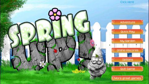 بازی پاکسازی باغ بهاری؛ Spring Up! v1.0