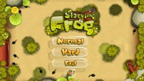 بازی قورباغه گرسنه؛ Starving Frog PC Game