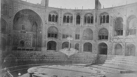 عزاداری مردم دوران قاجار