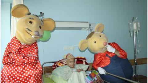 موش ها به دیدن کودکان محک رفتند