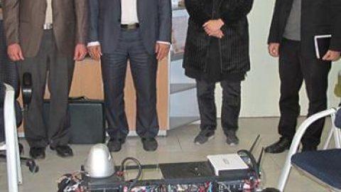 ساخت نخستین ربات متحرک چهارپای حامل در کشور