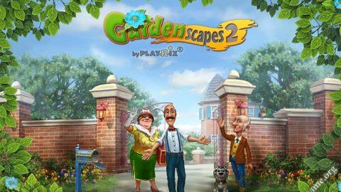 بازی سرگرم کننده Gardenscapes 2