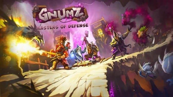 دانلود بازی سرگرم کننده Gnumz: Masters of Defense