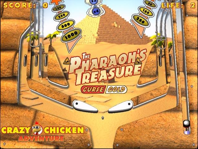 دانلود بازی کم حجم Crazy Chicken Pinball