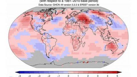 ۲۰۱۴، گرم ترین سالی که تاکنون ثبت شده است