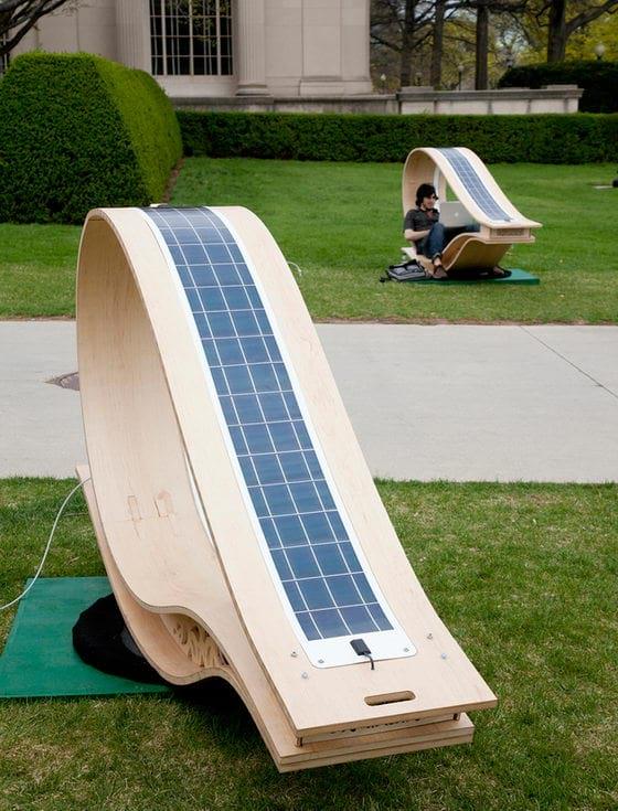 صندلی خورشیدی