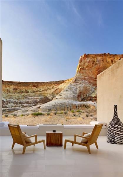 هتل شگفتانگیز در دل کویر