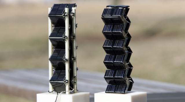 پنل های سه بعدی انرژی خورشیدی