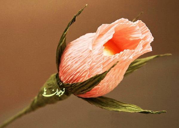 کاردستی-گل رز (9)