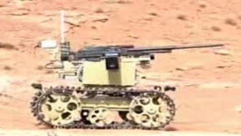 نخستین تصاویر از ربات رزمی سپاه
