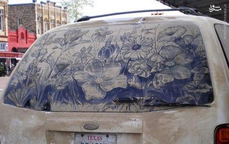 نقاشی با گل (3)