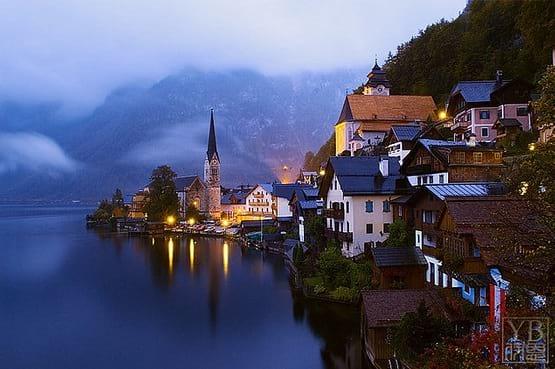 روستای زیبایی در اتریش